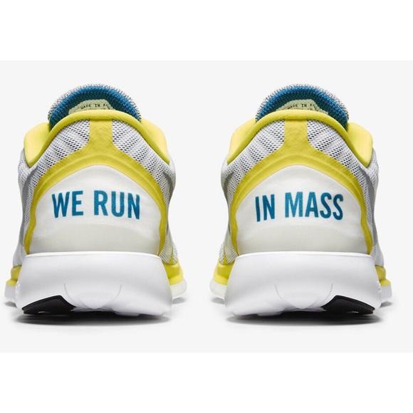 Nike Free Run 5.0 Boston Marathon Edition